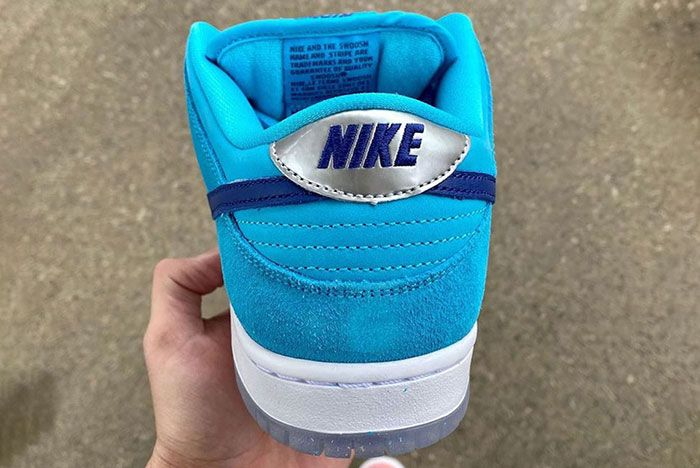 Nike Sb Dunk Low Blue Furry Bq6817 400 Release Date 4 Leak