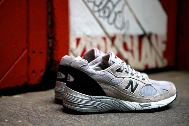 New Balance 991 Made In Usa Grey Black 3