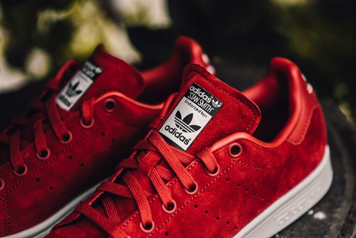 Adidas X Rita Ora Stan Smith Red Feature Lv 3 1