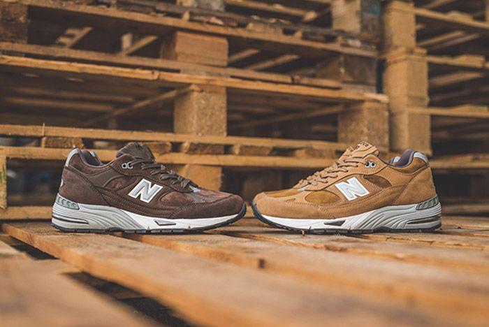 New Balance 991 Brown 13