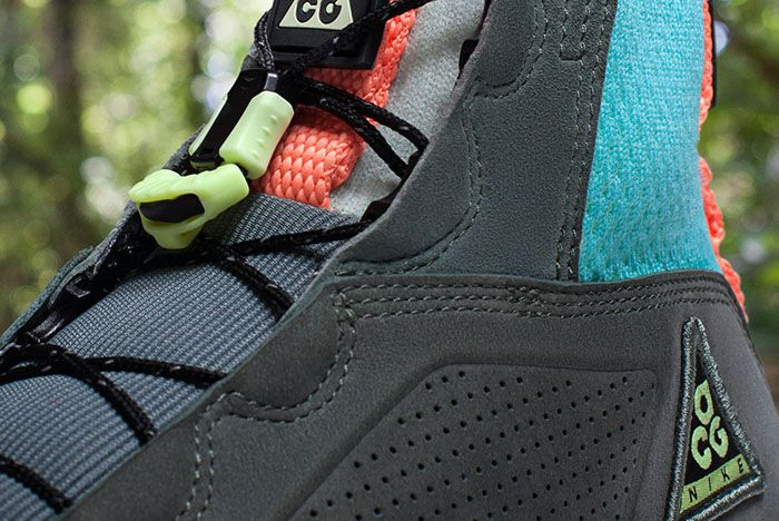 Nike Acg Ruckel Ridge Grey Lime Teal Orange 2