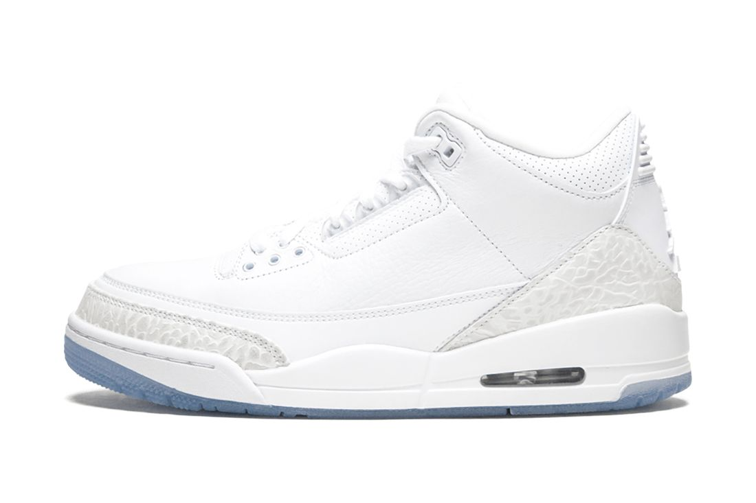 Pure White Air Jordan 3 Best Feature