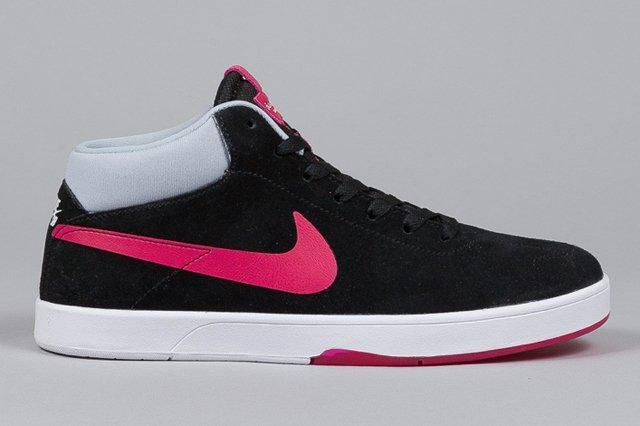 Nike Sb Eric Koston Mid Black Fuchsia Force 4