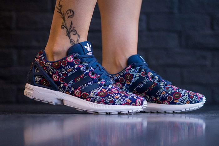 Farm Rio Adidas Zx Flux Womens 3