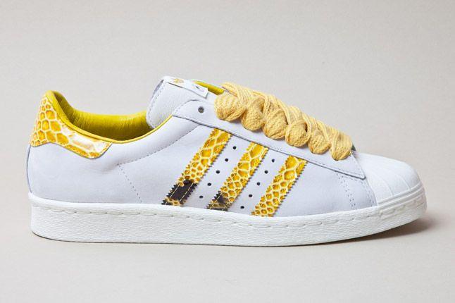 Adidas Consortium Shelltoe Snake Yellow 1 1