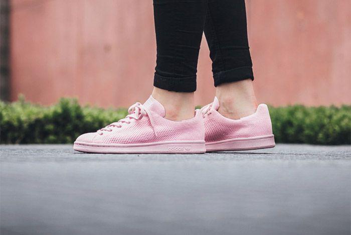 Adidas Stansmith Primeknit Pink 3