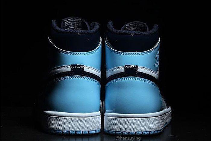 Air Jordan 1 Unc Patent Leather Cd0461 401 4