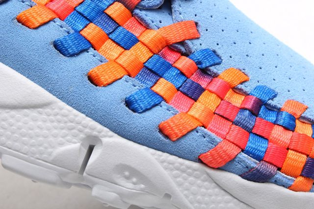 Footscape Woven Chukka Motion Closeup