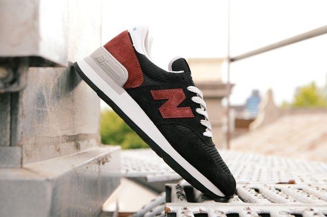 New Balance 990 Black Burgandy5