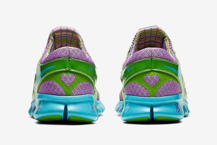 Nike Doernbecher Free Run Heel Shot 3