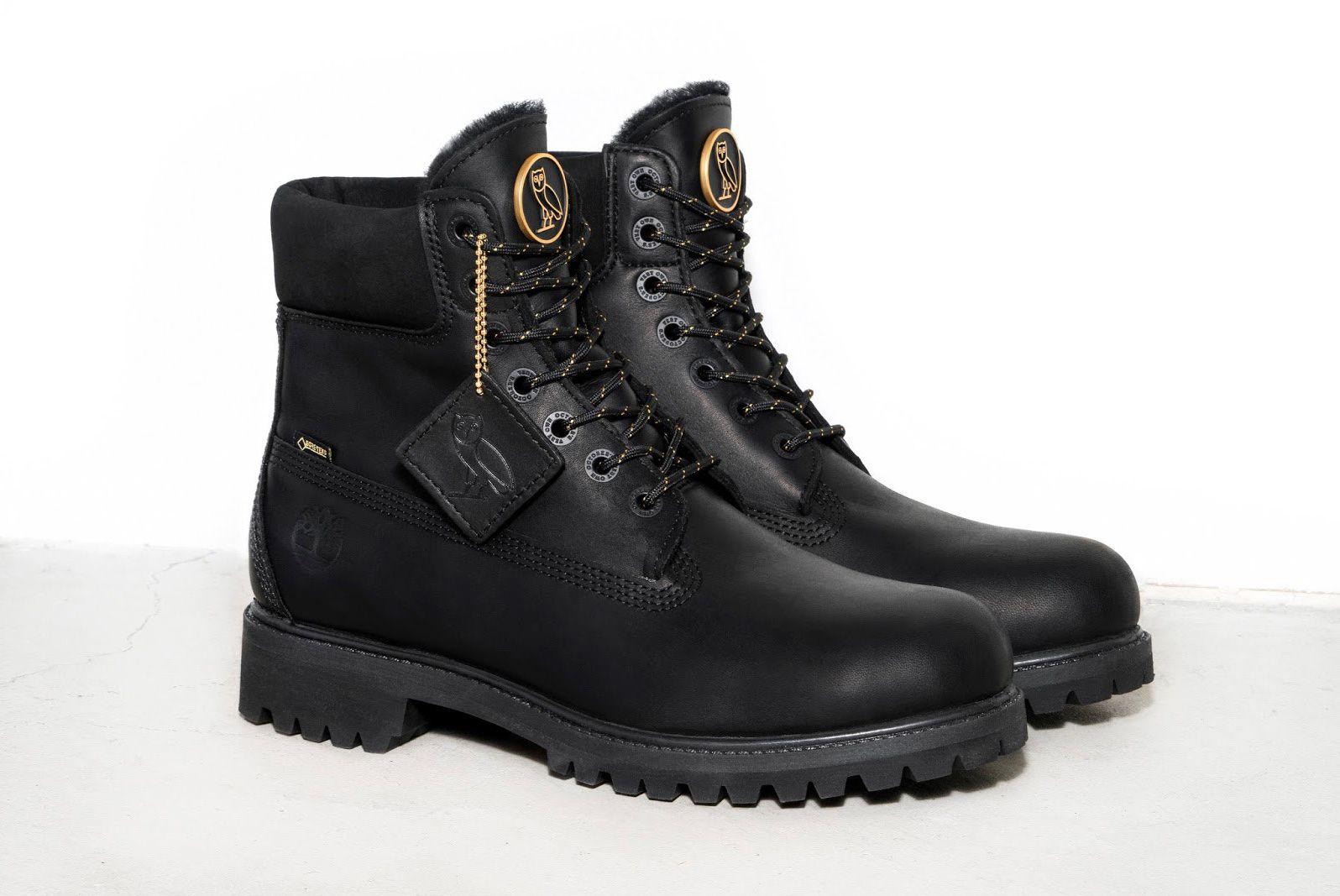 Ovo X Timberland Black Sneaker Freaker