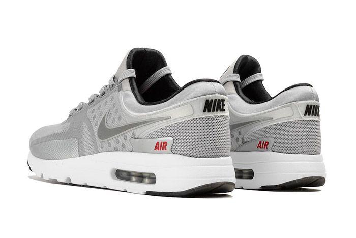 Nike Air Max Zero Matallic Silver 3