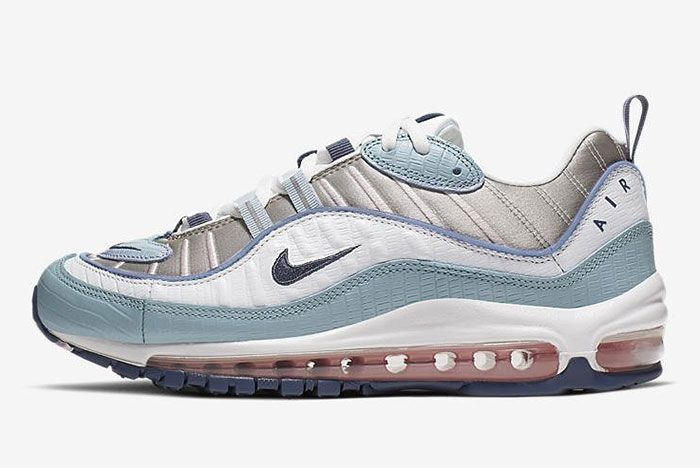 Nike Air Max 98 Ck0832 500 Snakeskin Lateral Side Shot