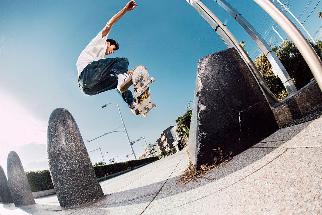 Shin Sanbongi Wallie To Grind 01Adidas Skateboarding Shin Sanbongi Hero