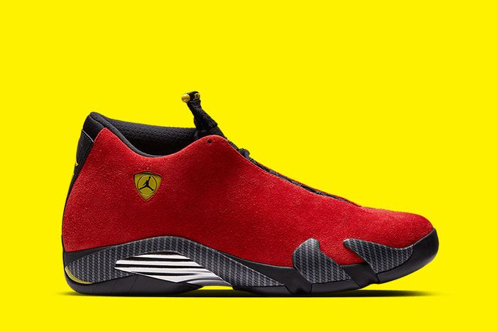 Air Jordan 14 Ferrari Inspiration