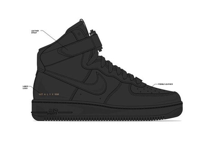 Alyx Nike Air Force 1 Teaser 1