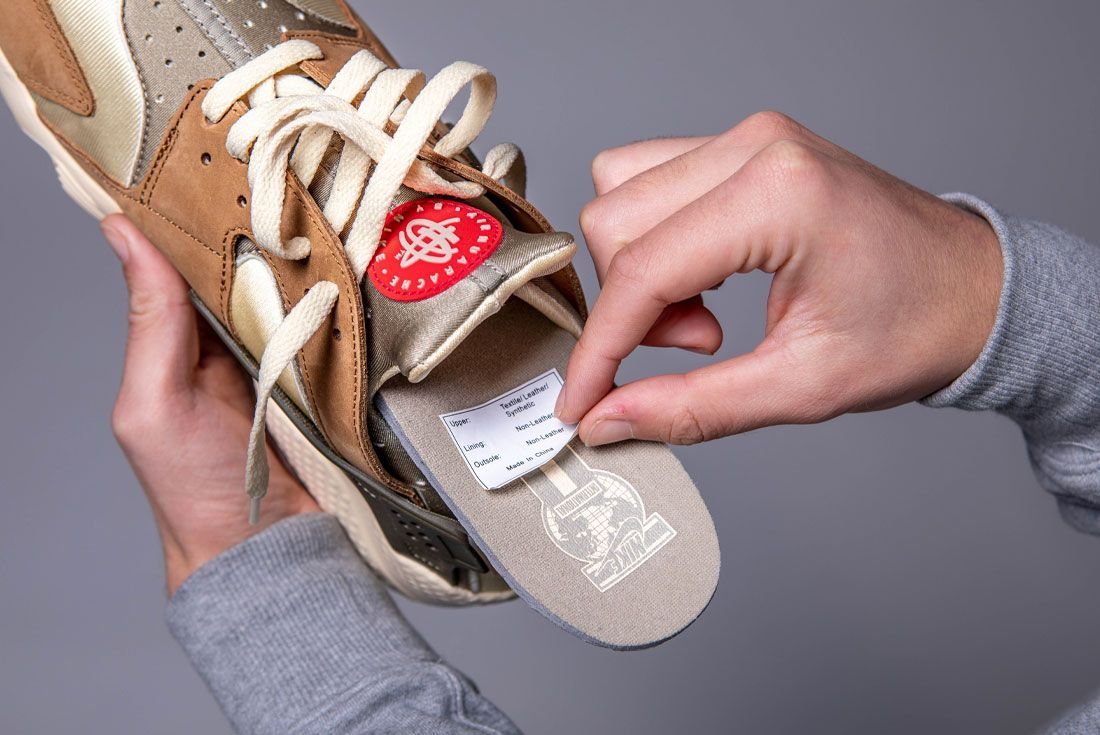 Peel Sticker From Shoes