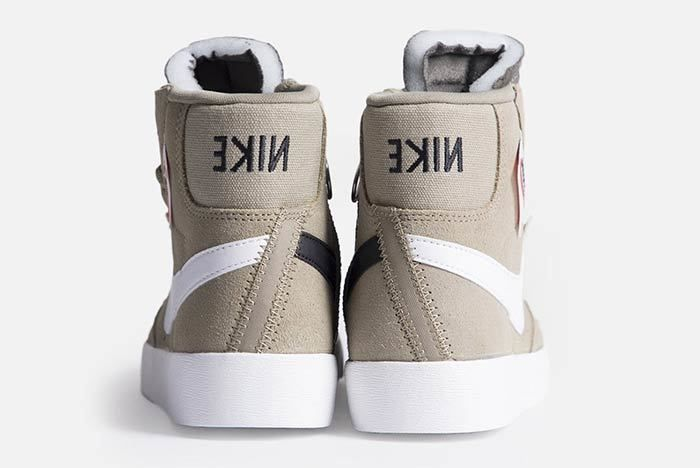 Nike Blazer Mid Rebel Womens Olive Bq4022 201 3