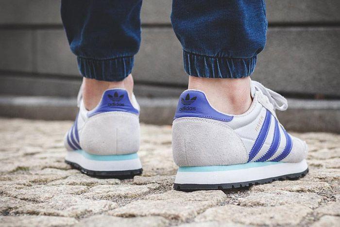 Adidas Haven Grey Purple 1