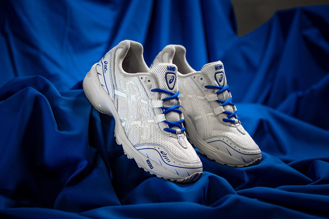 Above The Clouds Asics Gel 1090 Blue Cloth