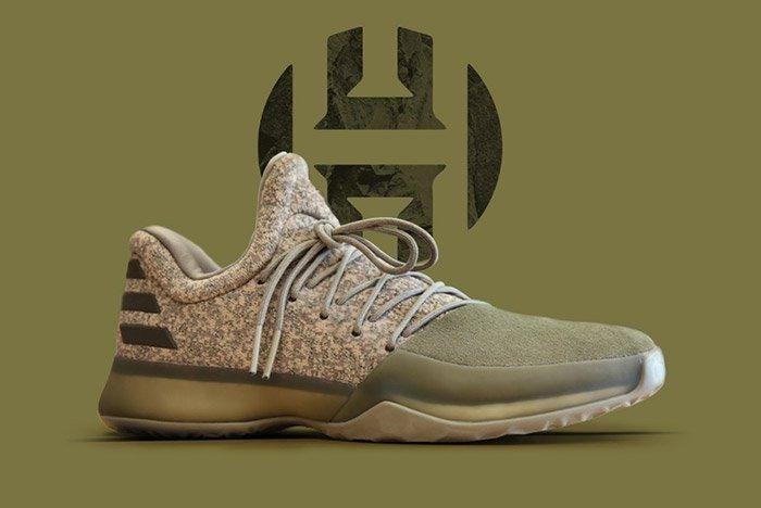 Adidas Harden Vol 1 Gargo Green 1
