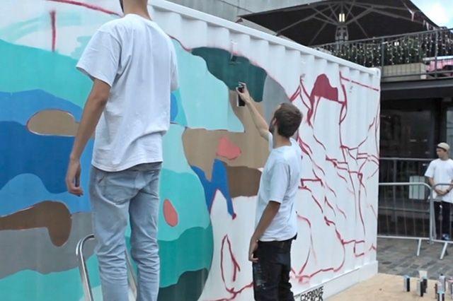 Boxpark Live Graffiti– Sobek Sicks Ha 5