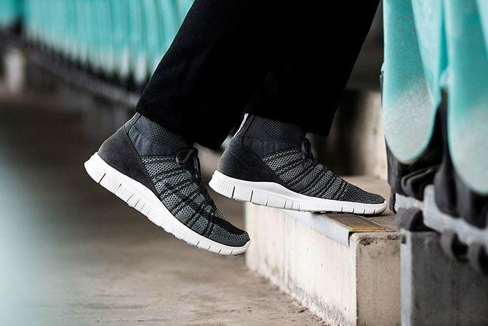 Nike Free Mercurial Flyknit Grey Feature