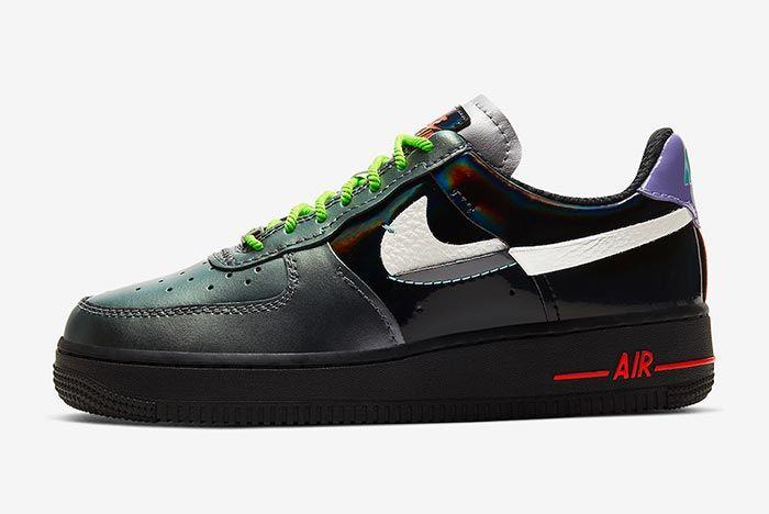 Nike Air Force 1 Vandalized Left Side Shot