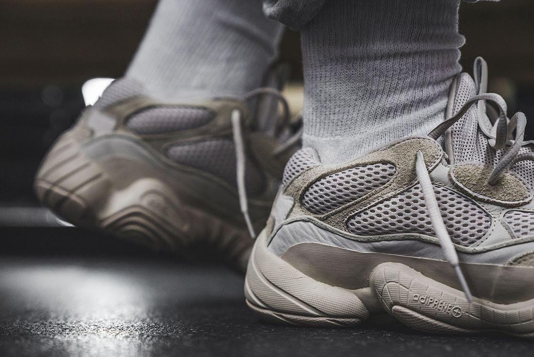 Yeezy Desert Rat 500 On Foot Sneaker Freaker 5
