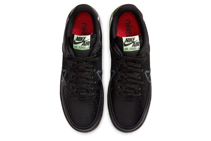 Nike Air Force 1 React Black Top