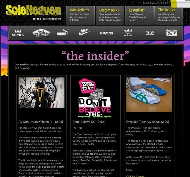 Soleheaven Insider 1