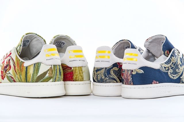 Pharrell Adidas Stan Smith Jacquard Bumper Pack 3