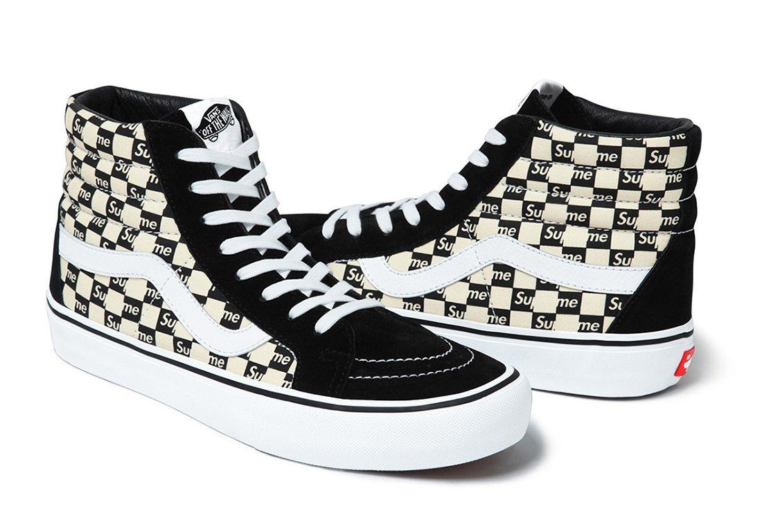 Supreme X Vans Checker Logo Pack 8