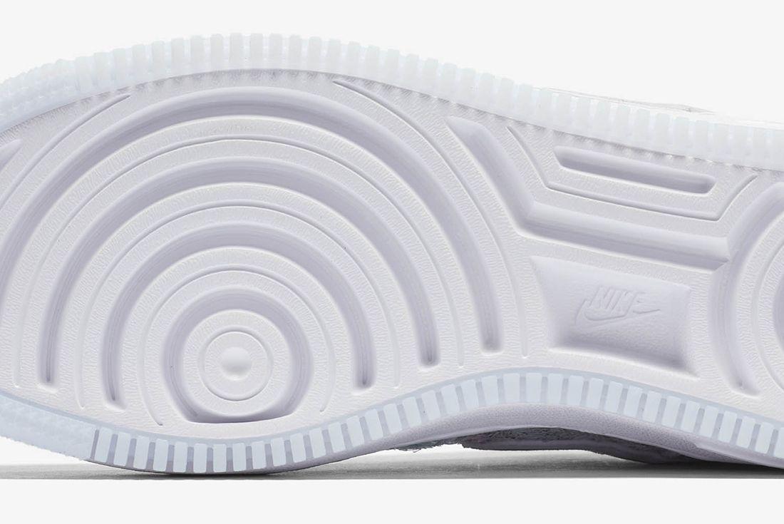 Nike Air Force 1 Upstep Low Glass Slipper 8