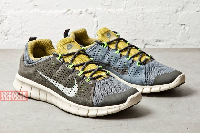 Nike Free Powerlines Ii Lthr Wolf Grey 2