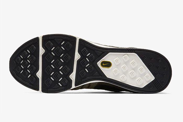Nike Flyknit Trainer Cargo Khaki Citron 1