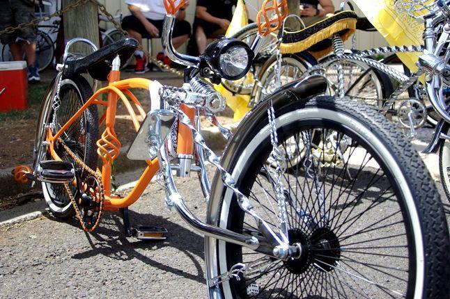 Saint Side Bike Show 2013 Orange Lowlow 1