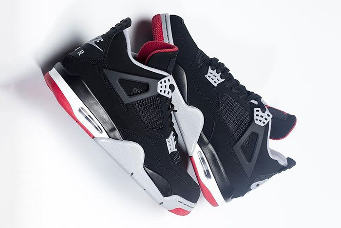 Air Jordan 4 Bred Black Red 2019 308497 060 0