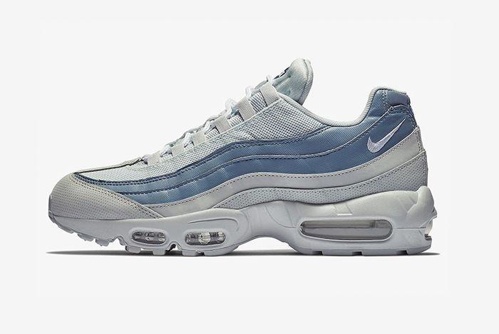 Nike Air Max 95 Blue Grey 3 Sneaker Freaker