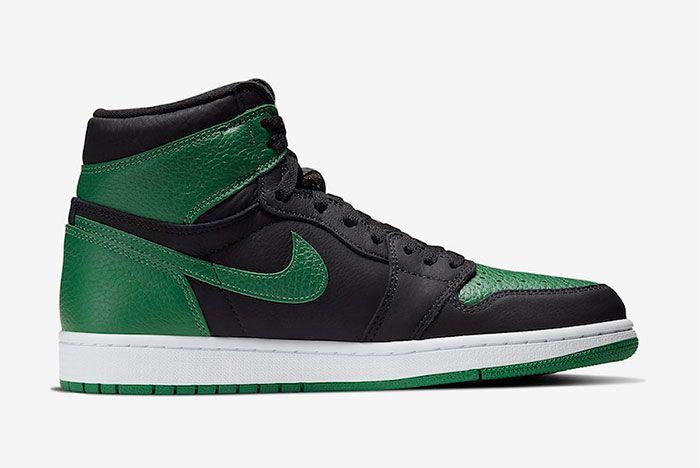 Air Jordan 1 High Pine Green Right
