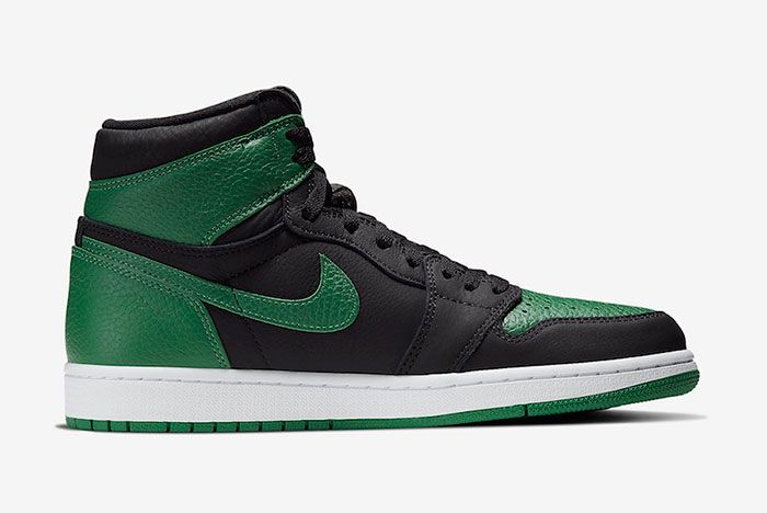 Air Jordan 1 High Pine Green Right