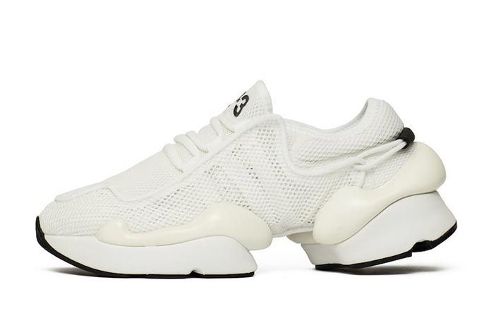 Adidas Y 3 Ren White F99798 Lateral Side Shot