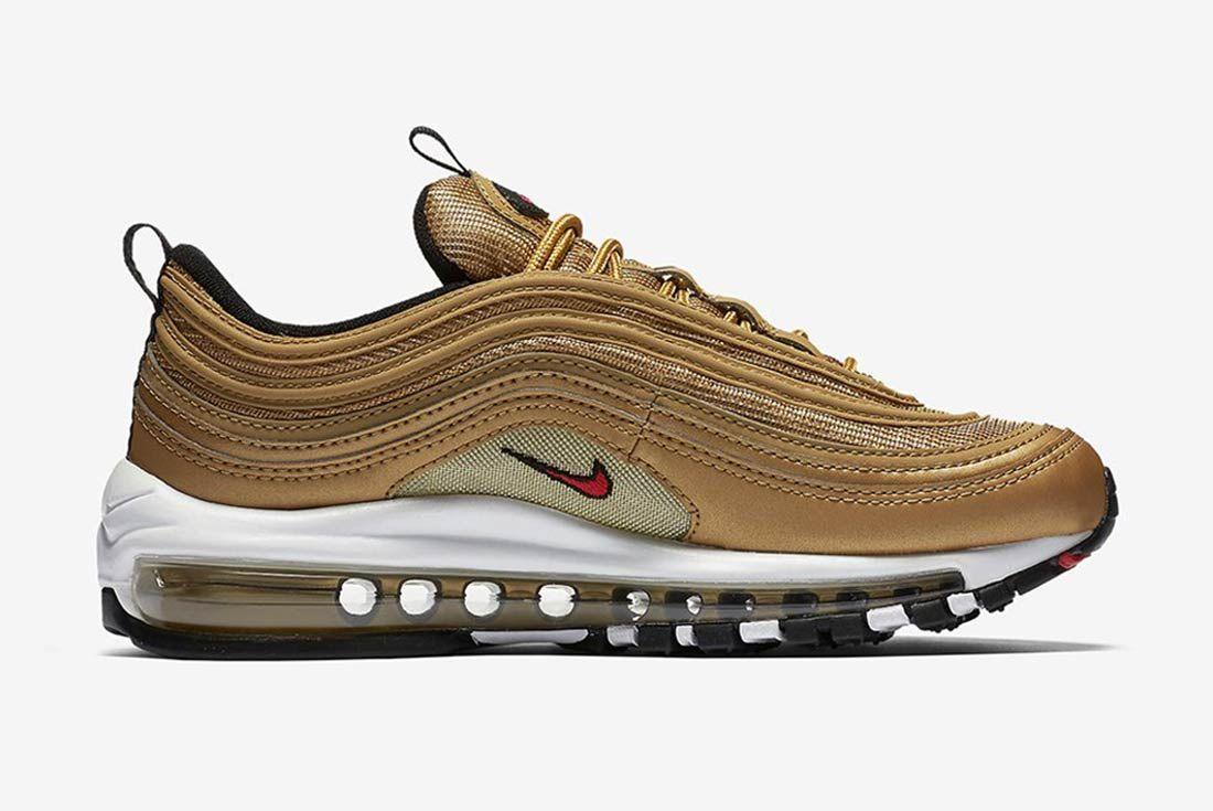 Nike Air Max 97 Metalic Gold 1