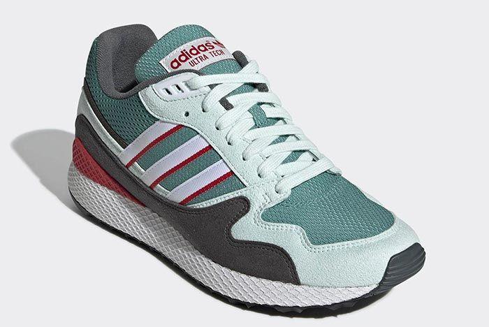 Adidas Ultra Tech Green Front