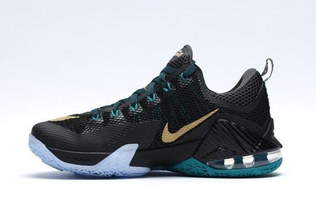 Nike Le Bron Xii Metallic Gold 4