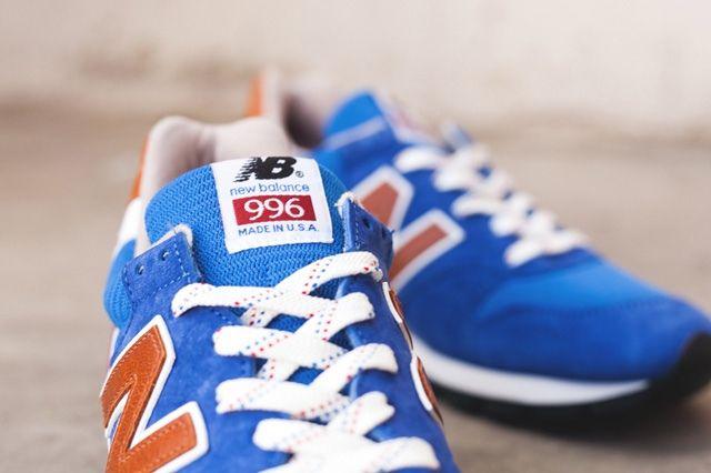 New Balance 996 Brown Blue 5