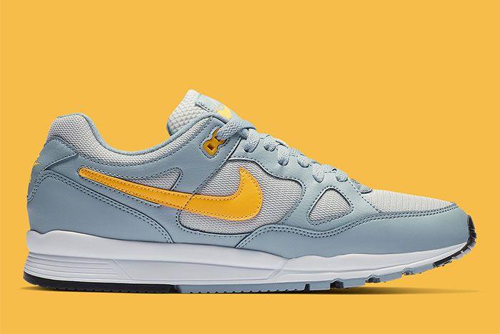 Nike Air Span Ii Grey Yellow Side5