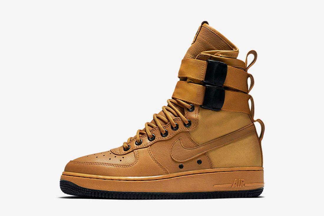 Nike Sf Air Force 1 Wmns Desert Ochre6