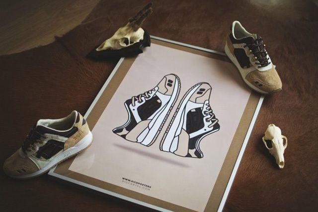 New Range Sneaker Art By Kick Posters 12