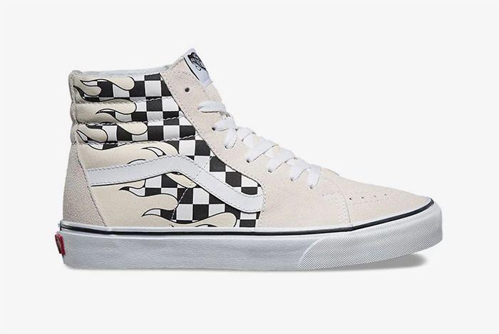 Vans Checkboard Flame 4